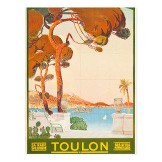 Viaje de Toulon Cote d'Azur Provence Alpes del Tarjeta Postal