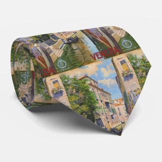 Viaje de Venecia Italia de las góndolas del Gran Corbatas Personalizadas