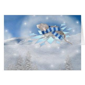 Viaje de Winterland Tarjeta De Felicitación