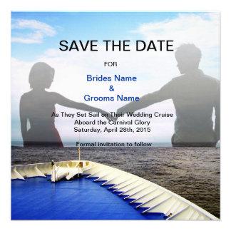 Viaje del amor l barco de cruceros boda del destin anuncio