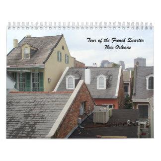 Viaje del barrio francés - calendario 2010