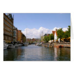 Viaje del canal, Copenhague Felicitación