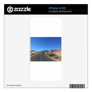 Viaje del día a través del parque nacional de la calcomanías para el iPhone 4S