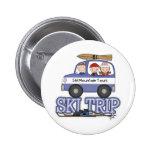 Viaje del esquí pins