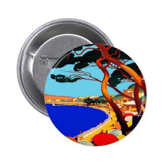 Viaje del francés de Cote d'Azur del vintage Pin