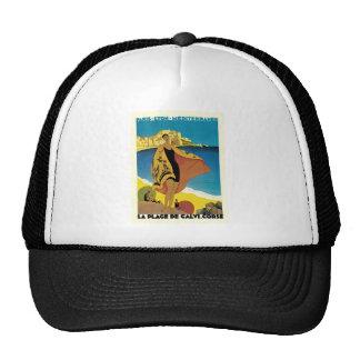 Viaje del francés del vintage gorras