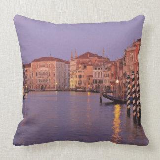 viaje del Gran Canal de la madrugada Venecia Ita Cojin