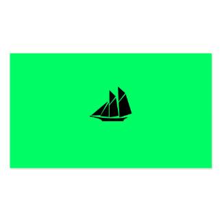 Viaje del icons_harbor del themed_maritime de la n plantillas de tarjetas personales