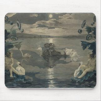 Viaje del mar del Arion, 1809 Tapetes De Raton