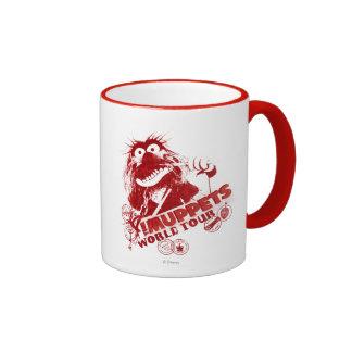 Viaje del mundo animal taza de café