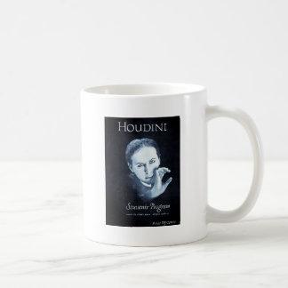 Viaje del programa 1926-27 del recuerdo de Houdini Taza Básica Blanca