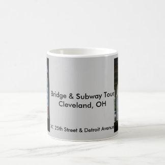 Viaje del puente y del subterráneo de Cleveland Taza De Café