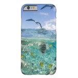 Viaje del safari de la laguna que ofrece funda para iPhone 6 barely there