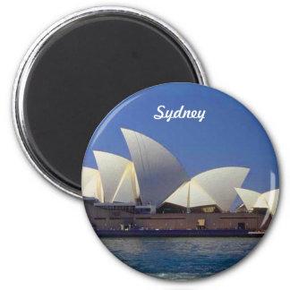 Viaje del teatro de la ópera de Sydney Australia Imán Para Frigorifico
