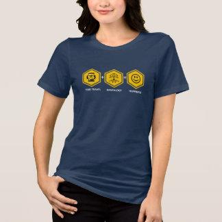 Viaje del tiempo + Genealogía = felicidad Camisetas