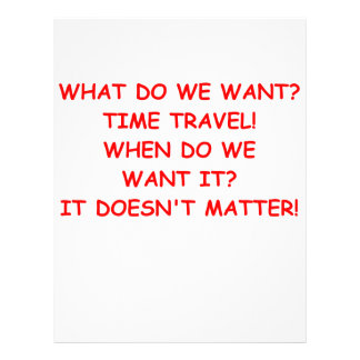viaje del tiempo membretes personalizados
