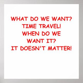 viaje del tiempo poster