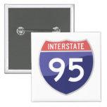 Viaje del viaje por carretera de la autopista 95 ( pins