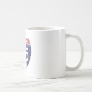 Viaje del viaje por carretera de la autopista 95 tazas de café