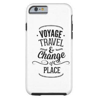 Viaje del viaje y cambio del lugar funda de iPhone 6 tough