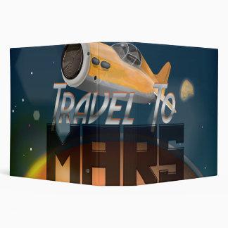 """Viaje del vintage al poster del viaje de Marte Carpeta 2"""""""