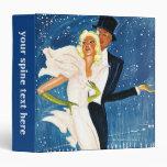 Viaje del vintage, amor Monte Carlo romántico Carpeta 3,8 Cm