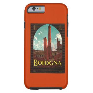 Viaje del vintage, Bolonia, Italia Funda De iPhone 6 Tough