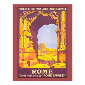 Viaje del vintage coliseo del italiano de Roma It Comunicados Personales