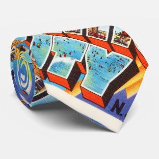 Viaje del vintage de Atlantic City 2 New Jersey NJ Corbatas Personalizadas