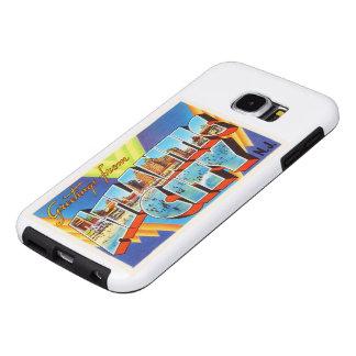 Viaje del vintage de Atlantic City 2 New Jersey NJ Funda Samsung Galaxy S6