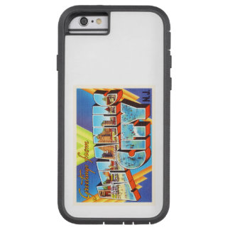 Viaje del vintage de Atlantic City 2 New Jersey NJ Funda Tough Xtreme iPhone 6