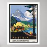 Viaje del vintage de Austria Posters