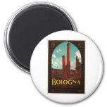 Viaje del vintage de Bononia Italia de Bolonia Imán Para Frigorifico