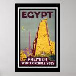 """Viaje del vintage de """"Egipto"""" Impresiones"""