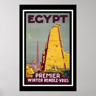 Viaje del vintage de Egipto Impresiones