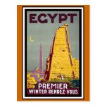 Viaje del vintage de Egipto Postal