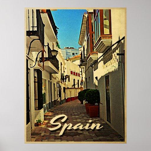 Viaje del vintage de España Posters