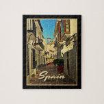 Viaje del vintage de España Puzzles Con Fotos