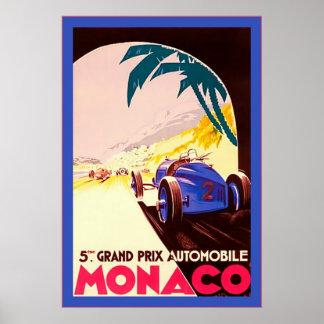 Viaje del ~Vintage de Grand Prix del ~ de Mónaco Impresiones