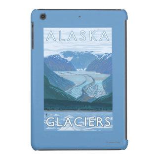 Viaje del vintage de la escena del glaciar de funda para iPad mini