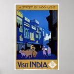 Viaje del vintage de la India de la visita Impresiones