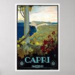 Viaje del vintage de Montecatini Toscana Italia Posters