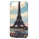 Viaje del vintage de París Francia de la torre Eif