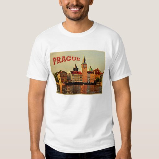 Viaje del vintage de Praga Playera