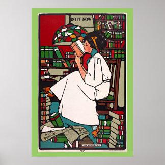 Viaje del vintage de Sadie Wendell Mitchell Posters
