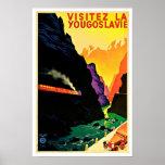 Viaje del vintage de Yougoslavie del La de Visitez Impresiones