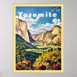 Viaje del vintage del ~ de Yosemite Impresiones