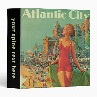 Viaje del vintage El centro turístico de Atlantic