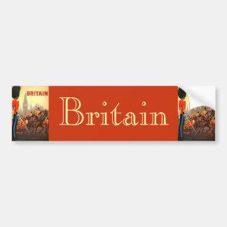 Viaje del vintage, Gran Bretaña Inglaterra, Pegatina Para Coche