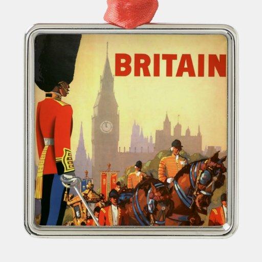 Viaje del vintage, Gran Bretaña Inglaterra, guardi Adorno De Reyes